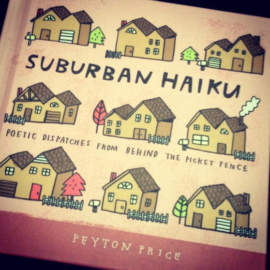 suburban haiku book, haiku, poetry